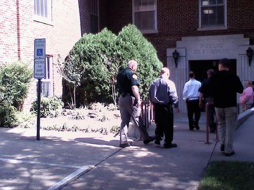 Kermit Channel enters courtroom