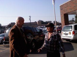 Mark Byers and Jessie Misskelley Sr.