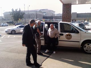 Jessie Misskelley Arrives at Courthouse
