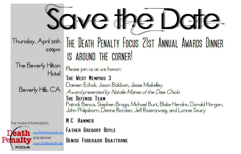 Death penalty dinner
